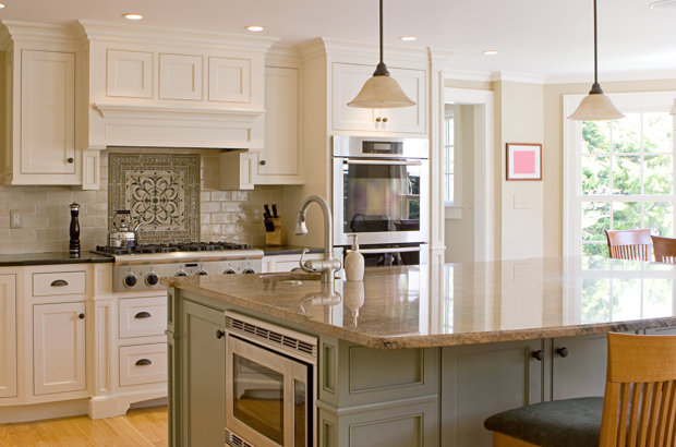 Kitchen Ideas with White Cabinets 620 x 410